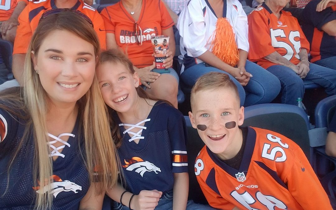 The Twins' First Broncos Game